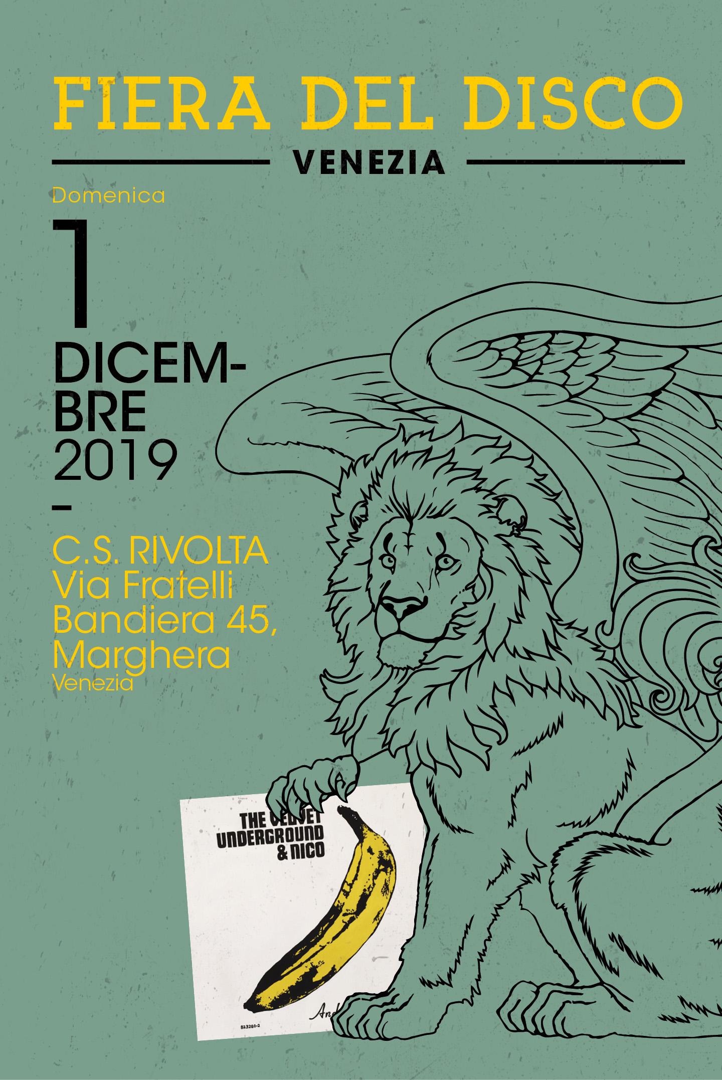 FIERA DEL DISCO - Venezia - 1 Dicembre 2019